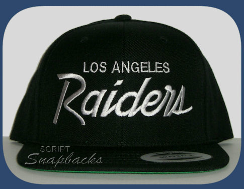 LA Los Angeles Raiders Snapback Hat